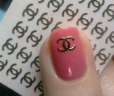 There are 65 of these Chanel Nail Decals  There are both gold and silver in one pack     **These are not Chanel brand**    must be following my tumblr for a promo code:  http://bless-sed.tumblr.com/ask  message me off anon for the code