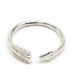 sterling silver arrow ring, now available at www.catbirdnyc.com