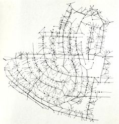 """""""Nervous squirrels, afraid of an attack on the ground, use the phone and television cables as highways wherever the tree canopy's broken. Birds rest on the power lines."""" Denis Wood's poetic alternative cartography."""