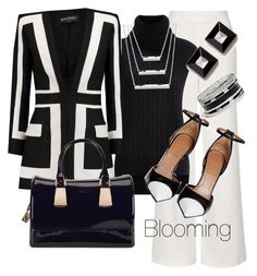 Geometric by agency-blooming on Polyvore featuring polyvore, fashion, style, 3.1 Phillip Lim, Balmain, Topshop, Givenchy, Furla, GUESS and clothing