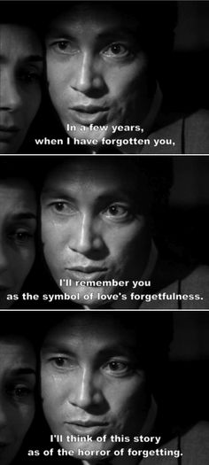 Hiroshima mon amour, film de 1959 réalisé par Alain Resnais. Scénario et dialogues Marguerite Duras