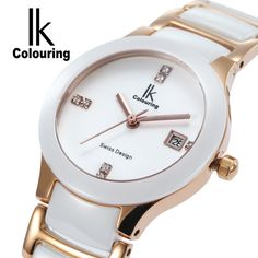 IK True Ceramic Watch //Price: $75.57 & FREE Shipping //     #ladieswatch