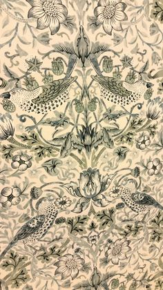 Ideas for vintage style wallpaper william morris Vintage Style Wallpaper, Trendy Wallpaper, New Wallpaper, Pattern Wallpaper, Wallpaper Backgrounds, William Morris Wallpaper, Morris Wallpapers, Vintage Wallpapers, Blue Marble Wallpaper