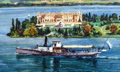 Munich et la Bavière, Louis II et Richard Wagner: Chiemsee - Herrenwörth Impératrice Sissi, Ludwig, Munich, Castles, Joseph, Gardens, Houses, Painting, Art