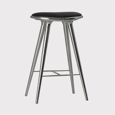 High Stool | Recycled aluminum | 74 cm