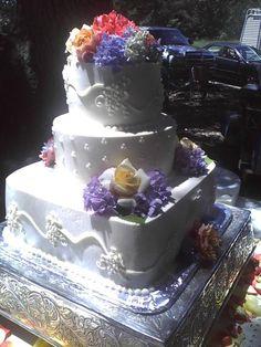 My Friends Wedding Cake