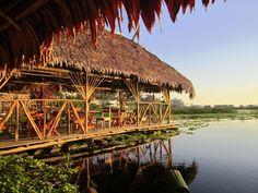Camiri Floating Hostel, Pérou. Un hôtel flottant!
