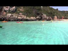 Nuestro viaje de Pons a Menorca en Kayak Menorca, Costa, Natural, Jewel, Paradise, Videos, Outdoor Decor, Voyage, Islands