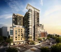 new Nashville.projects | Kimpton Hotels to Operate Hotel Component in $100M Mixed Use Midtown ...
