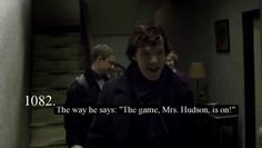 Yes. Excited Sherlock for the win!