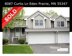 Just Sold! If you're thinking of buying or selling a home in Maple Grove or the Twin Cities area, contact us today to set up a free consultation! info@necklenoakland.com 763.657.0198 or visit our website to find out how much your home is worth http://www.mndreams.com/sell/