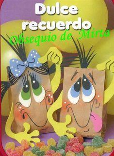 paso a paso decorar bolsas de regalo para niño (de la web) http://manualidadesamigas.foroargentina.net/