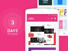 Inbbbox for Android by Netguru #Design Popular #Dribbble #shots