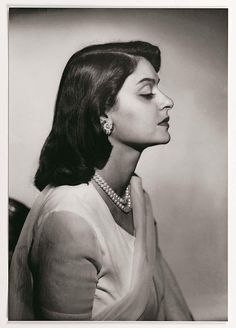 """Maharani Gayatri Devi of Jaipur, age 21, at the time of her marriage, 1940.She was born into the royal family of Cooch Behar, one of around 560 """"princely states"""" that existed in India. She was just 12 when she first met the then-21-year-old Maharaja of Jaipur, the urbane, polo-playing Sawai Man Singh II. The prince already had two wives, both essentially for political reasons, but in 1940 the pair shocked blue-blooded society by announcing their plans to marry."""