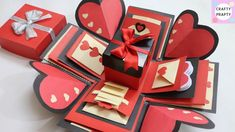 How to make Explosion box / DIY  Valentine's Day Explosion Box /Explosio...