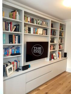 Tv Bookcase Wall Unit Unique Media Furniture Family Room In 2019 Living Room Built In Units, Wall Cabinets Living Room, Living Room Bookcase, Living Room Storage, Living Room Tv, Built In Tv Wall Unit, Wall Units For Tv, Tv Units, Dining Room