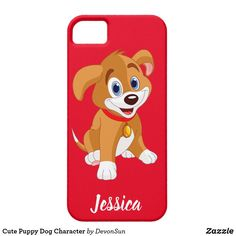 Cute Puppy Dog Character Barely There iPhone 5 Case