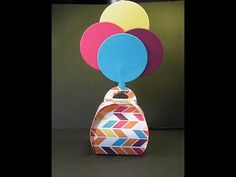 2015 Stampin'Up! Occasions: Curvy Keepsake Balloon Favor - YouTube