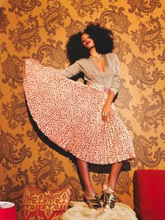 Solange Knowles Rocks GLAMMED OUT Promo Shoot | The Young, Black, and Fabulous