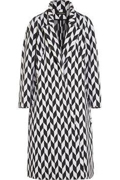 VIKA GAZINSKAYA // Oversized jacquard coat