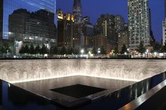Ground Zero Memorial...this is so pretty and such a great way to honor those who lost their lives...need to visit NYC also!