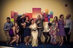 Idea for a funny group/table shot - wedding anniversary Photography by Marina Mougois #renewalofvows