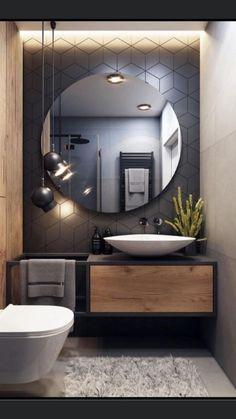 Bathroom Design Luxury, Modern Bathroom Design, Washroom Design, Modern Luxury Bedroom, Foyer Design, Laundry Room Design, Luxurious Bedrooms, Home Room Design, Home Interior Design