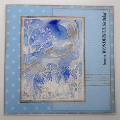 Evening All, Well that was hard, the first day back at work after two weeks off. I need my bed. Before I do give in I thought that I had . Winter Birthday, Paper Crafts, Diy Crafts, Card Making Inspiration, Birthdays, About Me Blog, Stamp, Cards, Bed