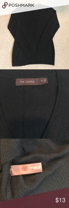 The Limited Merino Wool V Neck Sweater Lightweight Merino Wool The Limited Sweaters V-Necks