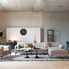 interior design ideas home Living Room Grey, Living Room Decor, Piece A Vivre, Lounge Areas, Beautiful Interiors, Contemporary Furniture, Living Room Designs, House Design, Interior Design