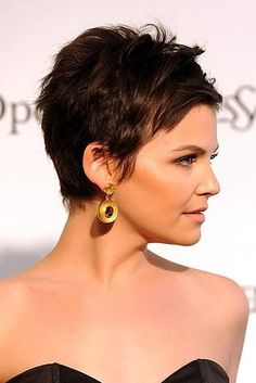 Short Pixie Haircuts, Cute Hairstyles For Short Hair, Pixie Hairstyles, Pretty Hairstyles, Short Hair Cuts, Curly Hair Styles, Pixie Cuts, Stylish Hairstyles, Simple Hairstyles