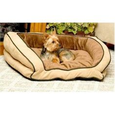 Bolster Pet Couch - Small/Mocha - PinYourPets.com