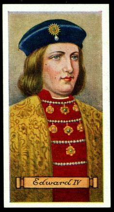 ♔ King Edward IV ♔ The House of Plantagenet ♔ The House of York ♔ 1461/1470 - 1471/1483