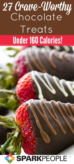 Eat chocolate and lose weight! | via @SparkPeople #diet #food #treat #snack #dessert #healthy
