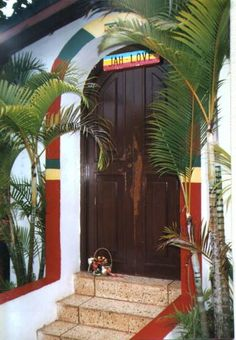 the grave of BoB Marley