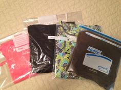 My ready-to-wear collection: Why I always travel with (lots of) Ziploc bags
