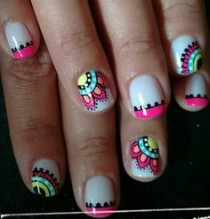 Elegant Rhinestones Coffin Nails Designs - New Ideas Crazy Nails, Love Nails, Fun Nails, Short Nail Designs, Toe Nail Designs, Design Ongles Courts, Chic Nails, Nail Stamping, Cool Nail Art