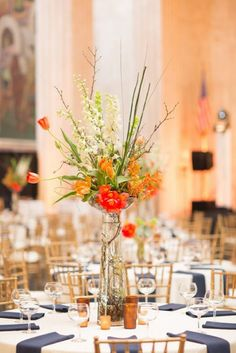 96 Cheerful Orange Wedding Ideas | HappyWedd.com