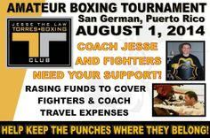 Jesse The-Law Torres Boxing Club on GoFundMe - $185 raised by 5 people in 2 months.
