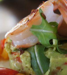 Foodblog Swap: Garnalen met avocado en paprika