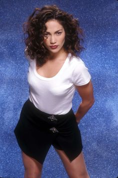 """Before she was """"J Lo"""", this Bronx, NY native was a Fly Girl on the 90s comedy show In Living Colour."""