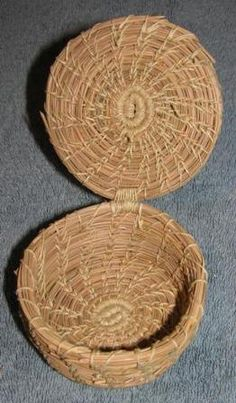 Sustaining Art Pine Needle Baskets