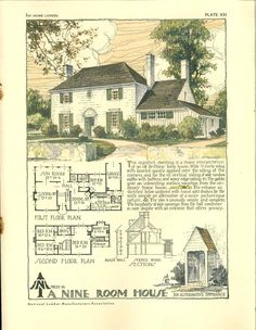 For home lovers. 9 room house 1929