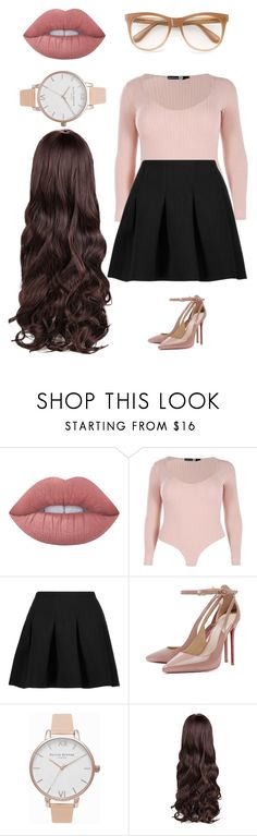 """I'm so sorry for the person I was"" by phya ❤ liked on Polyvore featuring Lime Crime, Boohoo, T By Alexander Wang, Olivia Burton and Wildfox"