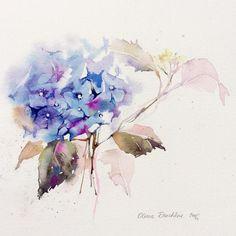 Watercolorist: @olena.duchene  #waterblog #color #акварель #art #paint #aquarelle #watercolor #drawing #painting