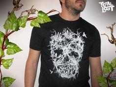 My cool skull tree t shirt.   http://www.etsy.com/listing/89201686/t-shirt-skull-tree-white-black-goth