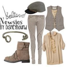 """@Ashley Bee - maybe you should do your own """"Newsies outfit"""" -- also-- the key bracelet? love it."""