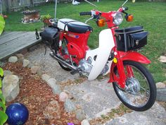 The Honda Cub, over 60 million sold! This my 81'