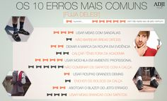 Os 10 erros mais comuns [fuja deles!]