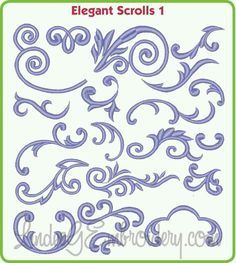 Elegant Scrolls Building Blocks for royal icing, meant for machine embroidery designs collection can combine designs Royal Icing Templates, Royal Icing Transfers, Cake Templates, Royal Icing Piping, Cake Piping, Cake Stencil, Stencils, Chocolat Gianduja, Piping Patterns